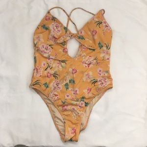 PacSun LA Hearts One Piece Swimsuit